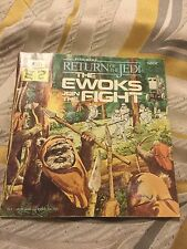 Return Of The Jedi E woks Join The Fight Book. Rare
