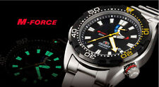 New Orient M-force Bravo automatic Gent's watch SEL0A001B 20ATM/Power reserve