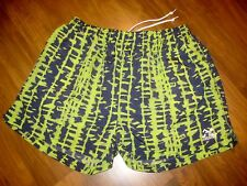 Vtg 80s 90s STARTER Neon athletic Mens LARGE Nylon Baggies swim trunks shorts L