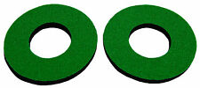 Flite old school BMX bicycle grip foam donuts - GREEN *MADE IN USA*
