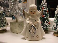 VTG.SINGING ANGEL FIGURINE-CHRISTMAS MUSICAL JAPAN~DARLING FACE!