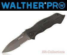WALTHER PRO Black Tac Knife BTK Messer Taschenmesser pocket knife Glasbrecher