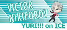 Yuri!!! on ICE  Cheering banner style towel Victor Nikiforov