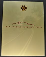 1997 Chrysler Sebring Coupe Sales Brochure Folder Excellent Original 97