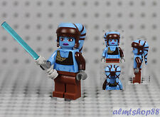 LEGO Star Wars - Aayla Secura Jedi Knight Minifigure 8098 Clone Turbo Tank
