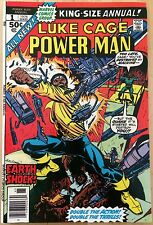 Marvel Comics Luke Cage Power Man King Size Annual #1 1976 Excellent
