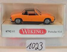 Wiking 1/87 0792 03 VW Porsche 914 orange OVP #1023