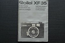 ROLLEI XF35 INSTRUCTION MANUAL