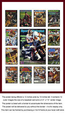 Washington Redskins Sports Illustrated Cover Collection Poster