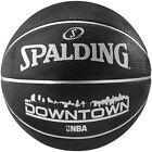 Spalding Downtown Official NBA Full Size 7 Rubber Indoor-Outdoor Basketball.