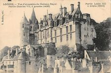 BF5206 loches vue d ensemble du chateau royal france    France