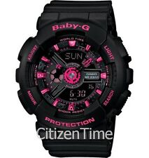 -NEW- Casio Baby-G Black / Pink Watch BA111-1A