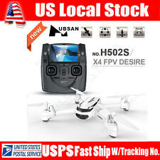 Hot! Hubsan X4 H502S FPV 5.8G GPS RC Quadcopter 720P HD Camera RTF Drone Toy US