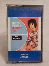 Kitty Wells Greatest Hits MCA 1980 MCAC - 121 Cassette