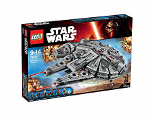LEGO Star Wars The Force Awakens Millennium Falcon (75105) New Never Opened
