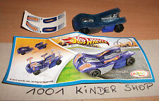 KINDER FT TR126 TR 126 HOT WHEELS + BPZ + STICKERS