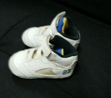 Infant Air Jordan Retro V (5) LANEY Baby Crib Shoe Size 2C