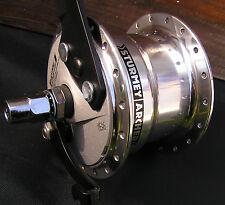 Sturmey-Archer Front Hub X-FDD 70mm Drum Brake 6V,3W Dynamo High-Flange Polished