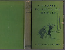 A Tourist in Spite of Himself (ill. Gluyas Williams), A. Edward Newton, 1st 1930