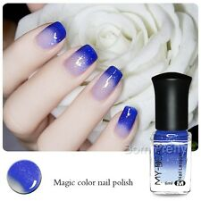 1Bottle 6ml Thermal Color Changing Peel Off Nail Art Manicure Polish Varnish