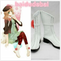 Japan Animeアムネシア Amnesia Heroine Cosplay Costume Shoes Boots