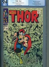 Thor 154 PGX 9.4 White pages 1st appearance of Mangog CGC 1968
