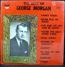 FACTORY SEALED Best Of George Morgan Starday SLP-957 Bluegrass LP