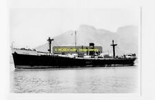 rp4569 - Harrison Line Cargo Ship - Merchant , built 1943 - photograph