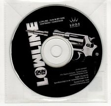 (GP300) Lowline, Gun In My Side - 2009 DJ CD