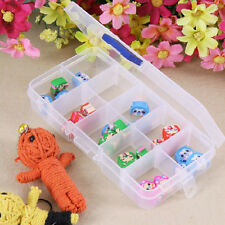 New Storage Case Box 10 Compartment for Nail Art Tips Jewelry Cosmetic Trinkets