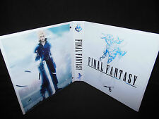 Custom Made Final Fantasy Trading Card Binder Graphics Only