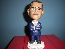 President BARACK OBAMA Blue Suit and Tie Bobble Head Figure New In Box