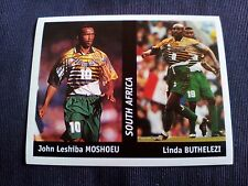 Figurina Ds Sticker France 98 n°140 MOSHOEU-BUTHELEZI SOUTH AFRICA World Cup