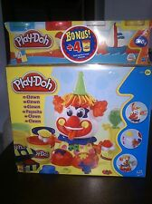 HASBRO PLAY-DOH BIRTHDAY CLOWN PLAYSET HARD-TO-FIND! WITH 8 CANS & FREE SHIPPING