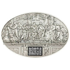 Cook Islands 2013 5$ Ceilings of Heaven NANO - Raphael Rooms Silver Coin