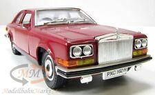 BBURAGO 3001 Rolls-Royce Camargue Die-Cast Metal rot 1:22 - OVP