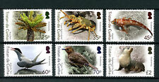 Tristan da Cunha 2016 MNH Biodiversity Pt 1 6v Set Birds Fish Seals Ferns Stamps