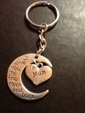 Keyring mum I love you to the moon and back