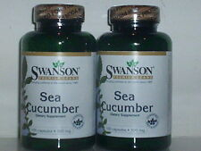 SEA CUCUMBER 500mg NATURAL CHONDROITIN HEALTHY JOINT AIDE 200 CAPSULES 2 BOTTLES