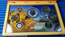 2006 Australia/Japan Year of Exchange 1oz Silver Proof Coin/Japan Proof Coin Set