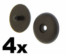 4x FIAT Seat Belt Buckle Buttons- Holders Studs Retainer Stopper Rest Pin