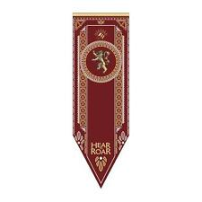 "Game of Thrones XXL 60"" LICENSED House LANNISTER Lion TOURNAMENT Banner FLAG"