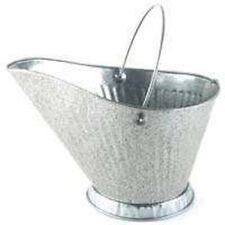 NEW BEHRENS 617S GALVANIZED HEAVY METAL FIREPLACE COAL HOD BUCKET 6546907