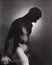 1936/81 Vintage 16x20 MALE NUDE Photo Engraved Duotone Art By GEORGE PLATT LYNES