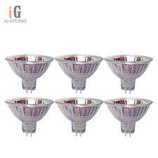6pcs, MR11 12V 20W 20WATTS Halogen Light Bulb Lighting Bulbs