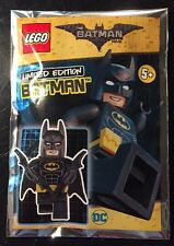 "LEGO 211701 The LEGO Batman Movie  ""Limited Edition"" Minifigure DC Foil Polybag"