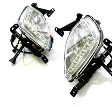 Fog Lamp DRL LED Day Light Running Lamp SET For HYUNDAI Elantra 2011 2012 2013