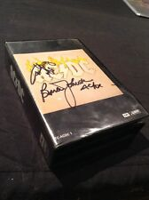 AC/DC SIGNED BOX SET CASSETTE TAPE X 6 TC- ACDC 1 ALBERT EARLY AUSTRALIA  RARE