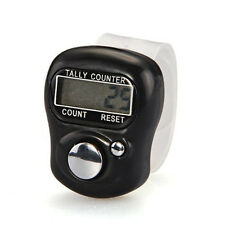 High Quality Finger Ring Digital Lcd Tally Counter Number Clicker Timer