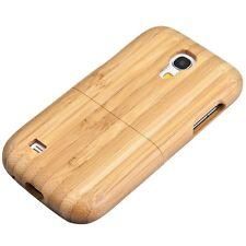 Mobile legno Custodia rigida per Samsung Galaxy s4 MINI legno di bambù cover di protezione